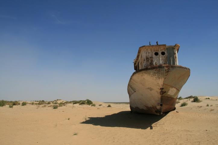 Aral Sea Ship Cemetery VIII